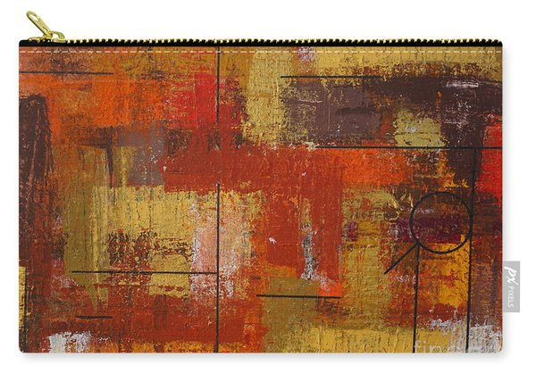 Carry-all Pouch featuring the painting Shades Of Fall by Jimmy Clark