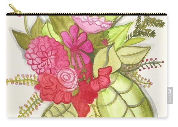 Shades Of Red Bouquet Carry-all Pouch