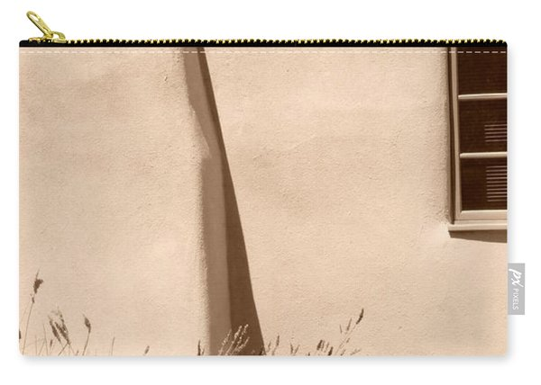Shadows And Light In Santa Fe Carry-all Pouch