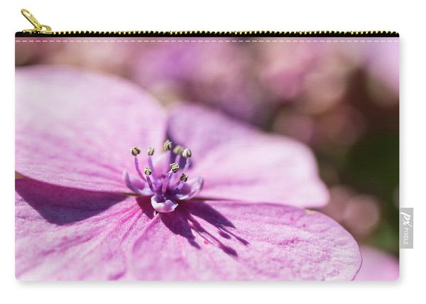 Shadows In Pink Carry-all Pouch