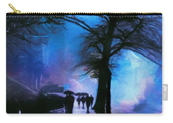 Shadows In The Rain Carry-all Pouch