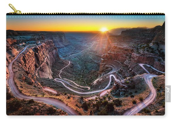 Shafer Trail Sunrise Carry-all Pouch