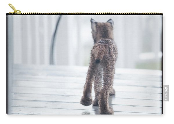 Carry-all Pouch featuring the photograph Shake It Off by Tim Newton
