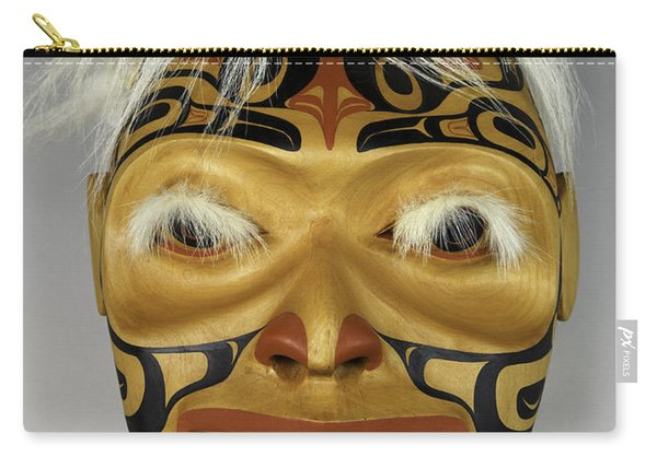 Shaman's Mask Carry-all Pouch