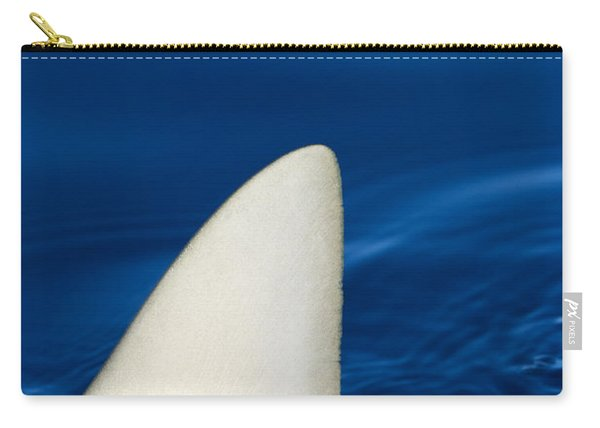 Shark Fin And Blue Carry-all Pouch