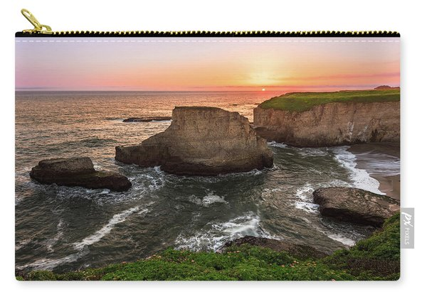Shark Fin Cove Sunset Carry-all Pouch