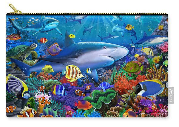 Shark Reef Carry-all Pouch