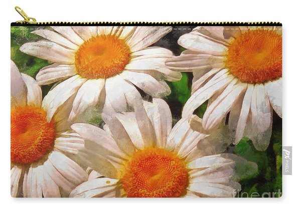 Shasta Daisies 2015 Carry-all Pouch