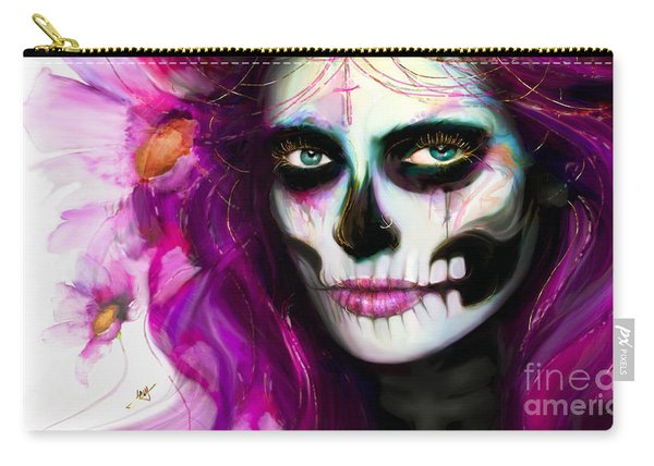She, Dia De Los Muertos Carry-all Pouch