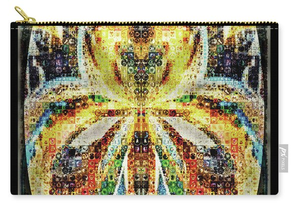 She Is A Mosaic Carry-all Pouch