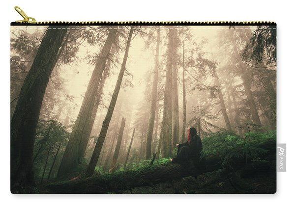 She Is At Peace Carry-all Pouch