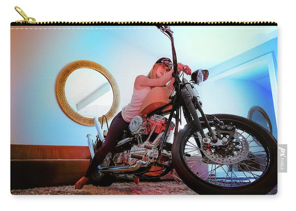 She Rides- Carry-all Pouch