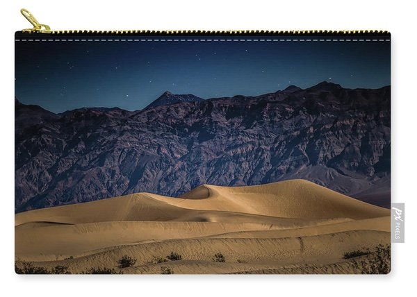 She Sleeps Under The Stars Carry-all Pouch