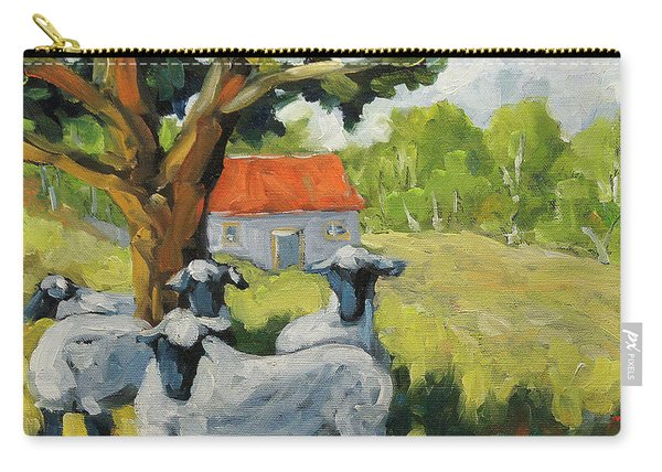 Sheep And Shade Carry-all Pouch