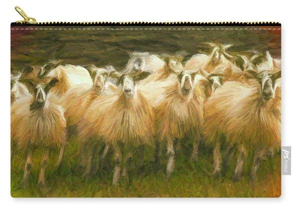 Sheep At Hadrian's Wall Carry-all Pouch