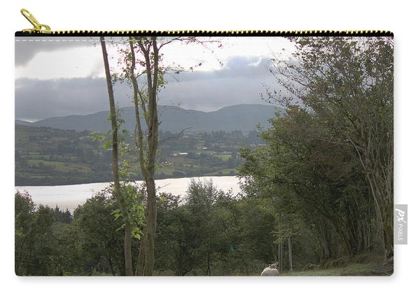 Sheep Near Lough Eske Carry-all Pouch