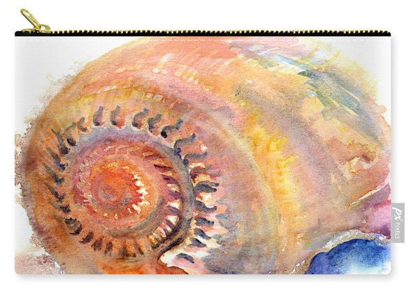 Carry-all Pouch featuring the painting Shell Nose by Ashley Kujan