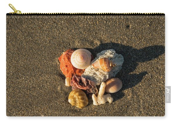 Shell Wave 1 Delray Beach Florida Carry-all Pouch