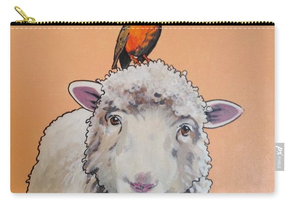 Shelley The Sheep Carry-all Pouch