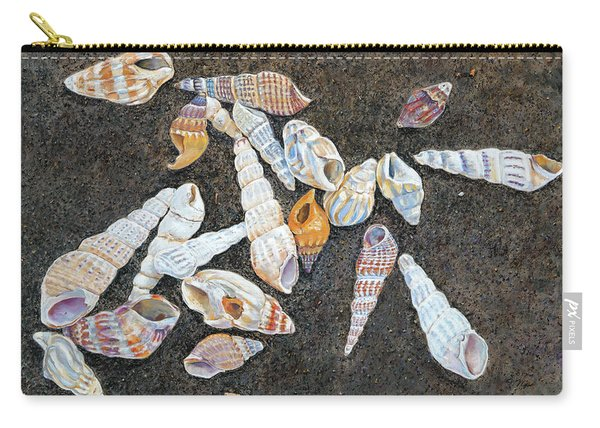 Shells From The Sea Of Galilee Carry-all Pouch