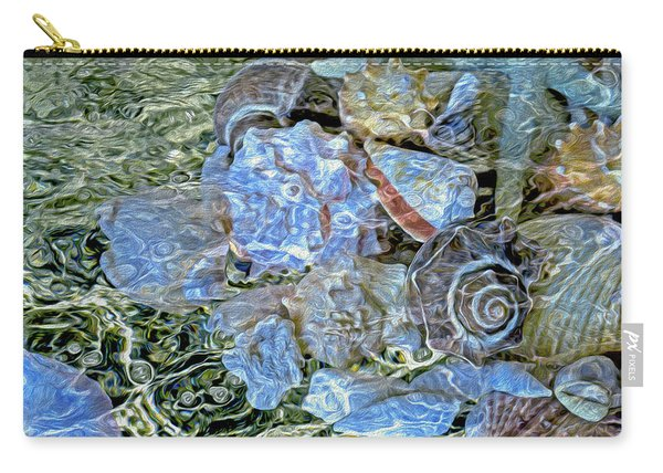 Shells Underwater 20 Carry-all Pouch