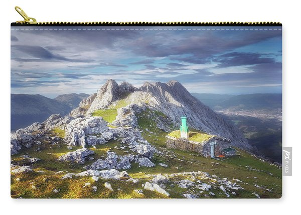 Shelter In The Top Of Urkiola Mountains Carry-all Pouch