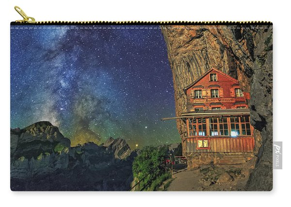 Sheltered From The Vastness Carry-all Pouch