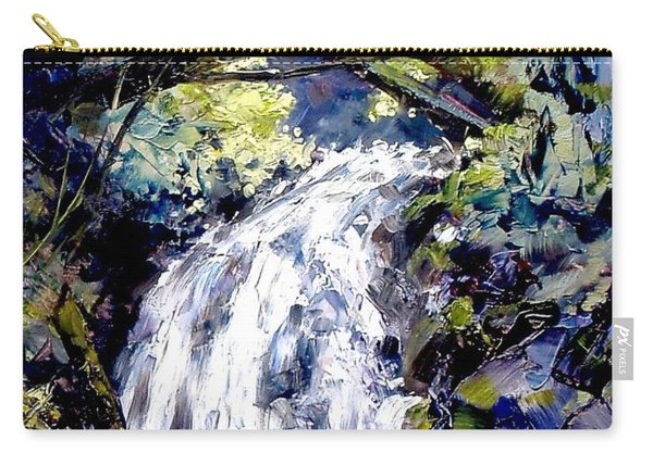 Shepherds Dell Falls Coumbia Gorge Or Carry-all Pouch