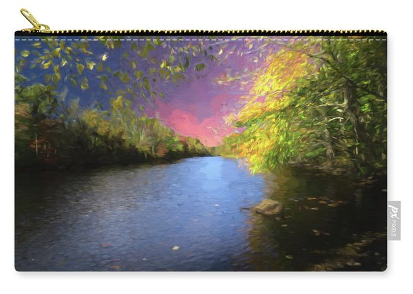 Shetucket River Ct. Carry-all Pouch