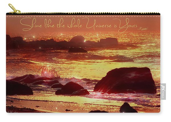 Shine Like The Universe  Carry-all Pouch