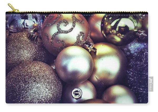 Shiny Christmas Baubles Carry-all Pouch