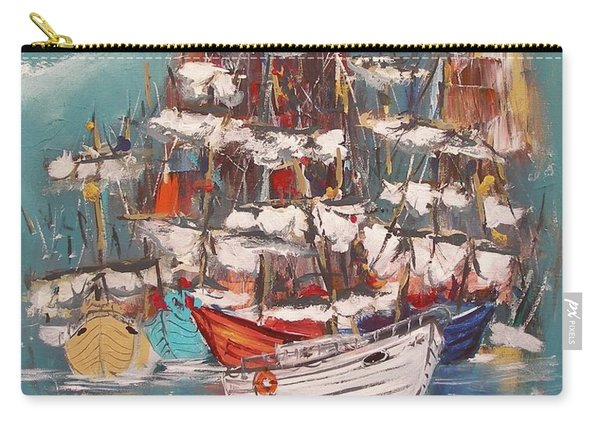 Ship Harbor Carry-all Pouch