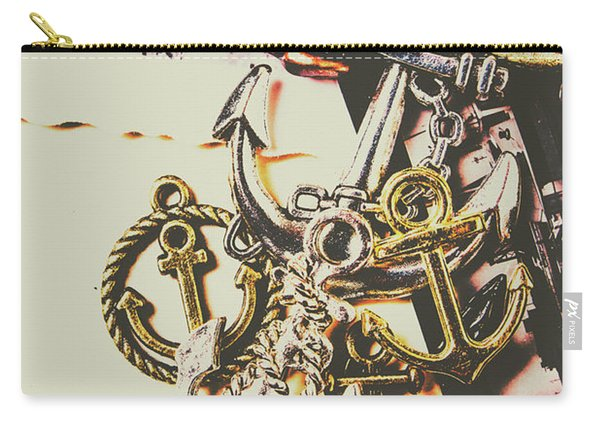 Ship Shape Maritime Icons Carry-all Pouch