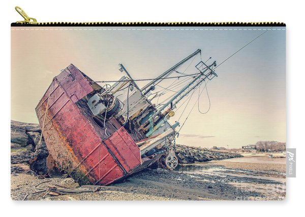 Shipwreck Provincetown Breakwater Carry-all Pouch