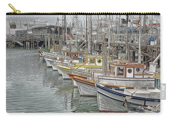 Ships In The Harbor Carry-all Pouch