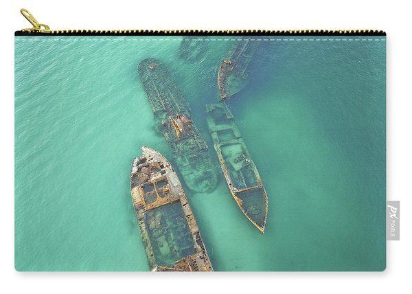 Shipwrecks Carry-all Pouch