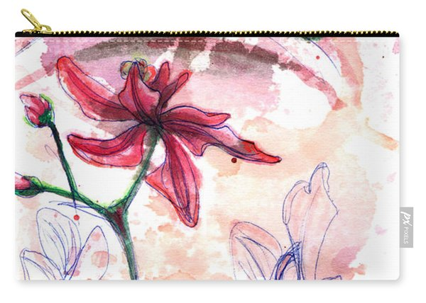 Shiraz Orchid II Carry-all Pouch