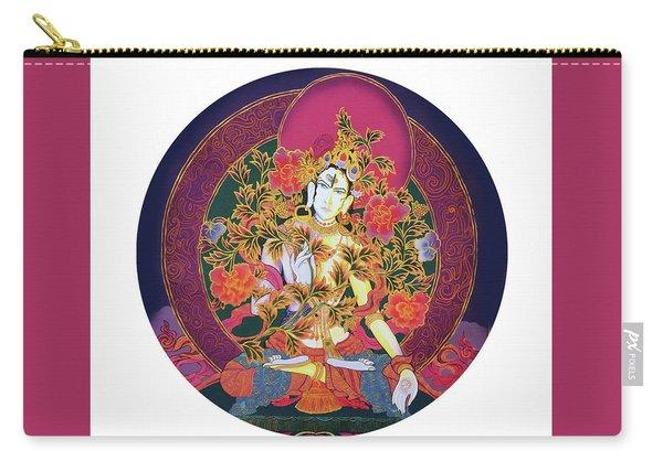 Shiva Shakti Yin And Yang Carry-all Pouch