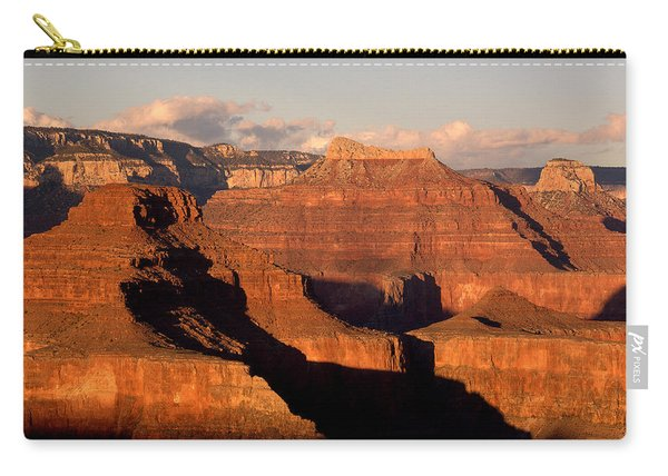 Shiva Temple  At Sunset Grand Canyon National Park Carry-all Pouch