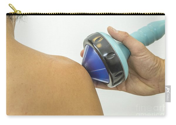 Shockwave Treatment On Shoulder Carry-all Pouch
