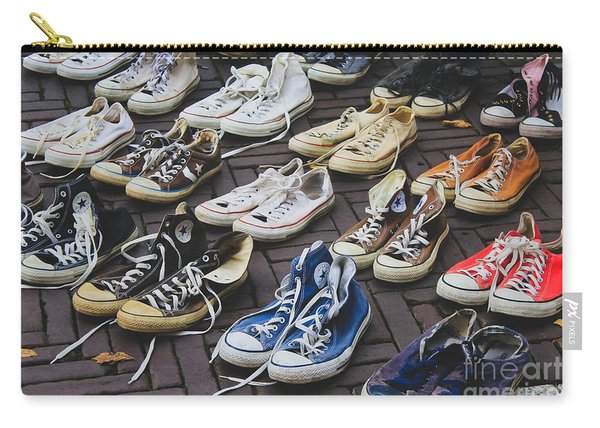 Shoes At A Flea Market Carry-all Pouch