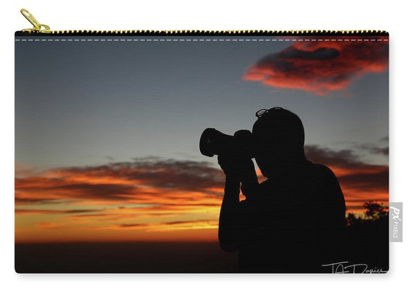 Shoot The Burning Sky Carry-all Pouch