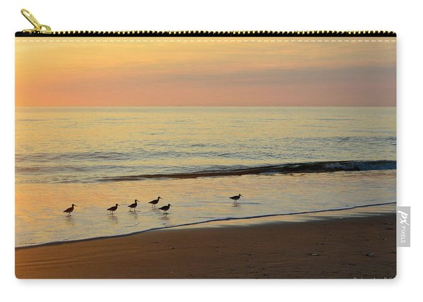 Shorebirds 9/4/17 Carry-all Pouch