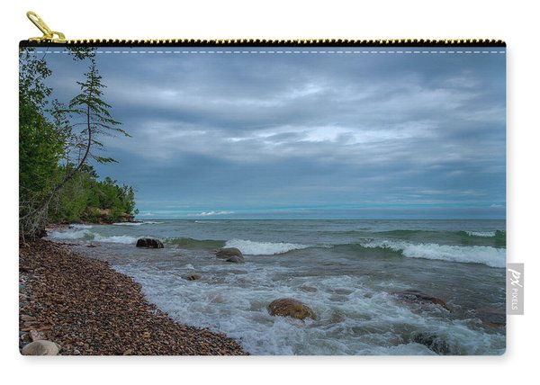 Shoreline Clouds Carry-all Pouch