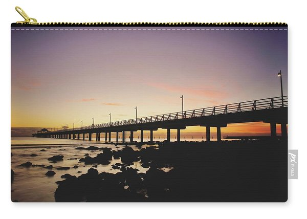Shorncliffe Pier At Dawn Carry-all Pouch