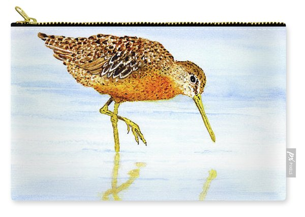 Short-billed Dowitcher Carry-all Pouch