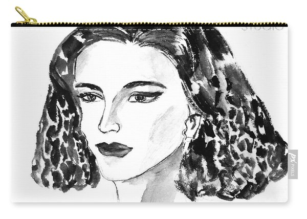 Short Hair Fashion Lady Carry-all Pouch