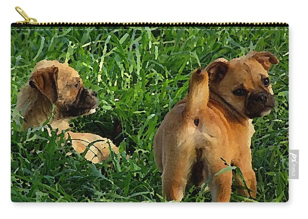 Showing Her Mutt. Carry-all Pouch