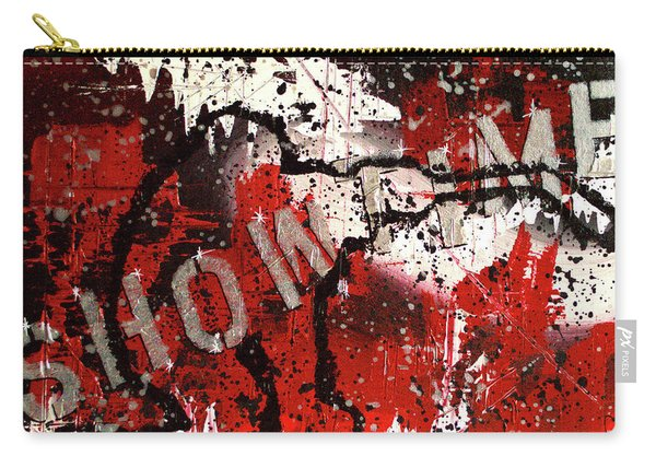 Showtime At The Madhouse Carry-all Pouch