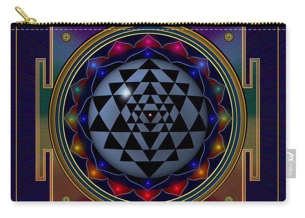 Shri Yantra Carry-all Pouch